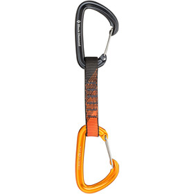 Black Diamond Freewire - Dégaine - 12cm gris/orange